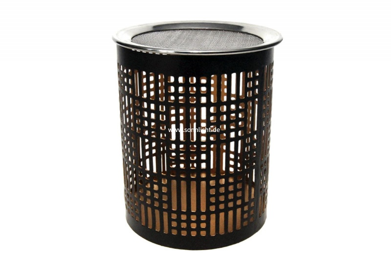r ucherst vchen mit sieb windlicht optische lichtreflexe. Black Bedroom Furniture Sets. Home Design Ideas