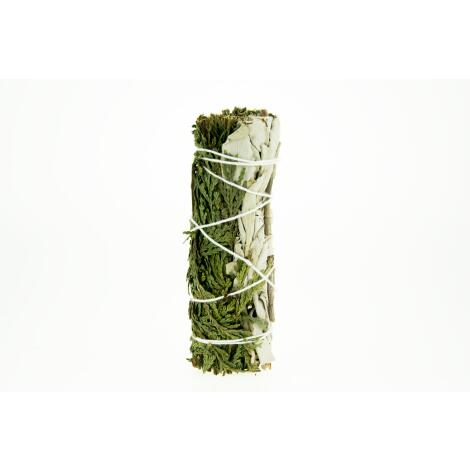 WEISSER SALBEI & ZEDER Räucherbündel 11 cm