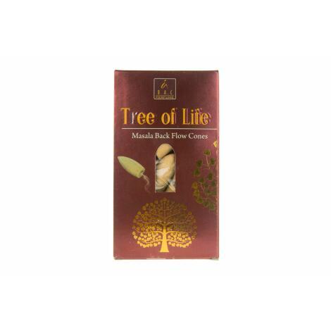 Balaji TREE OF LIFE Rückfluss Kegel Backflow Cones Masala