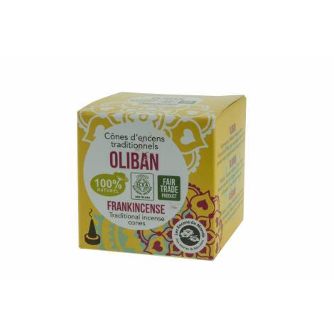 WEIHRAUCH - OLIBAN - 100 % natürliche Räucherkegel Aromandise