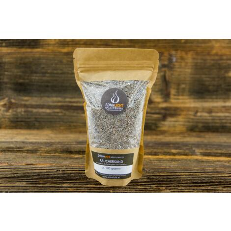 400 g Kristall - Räuchersand silbrig schimmernd
