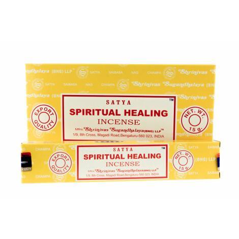 GROSSPACKUNG Satya SPIRITUAL HEALING Räucherstäbchen - 12 x 15 g