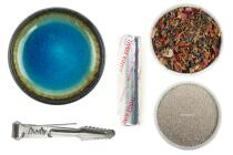 GRUNDAUSSTATTUNG - Räuchern mit Räucherschale & Kohle + Elfenzauber Räuchermischung