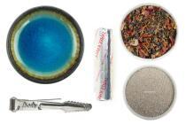 GRUNDAUSSTATTUNG - Räuchern mit Räucherschale & Kohle + Zedernholz Aromaweihrauch