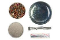 GRUNDAUSSTATTUNG - Räuchern mit Räucherschale + Palo Santo Aromaweihrauch 20 g