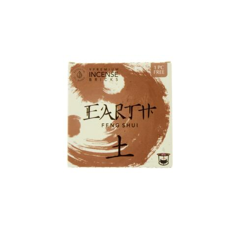 Räucherblöcke EARTH ERDE - Feng Shui - Aromafume