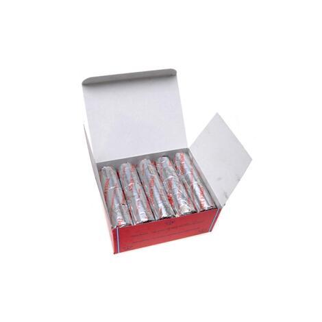 Karton mit Räucherkohlen 40 mm - 10 Rollen/Karton = 100 Kohlen - Three Kings
