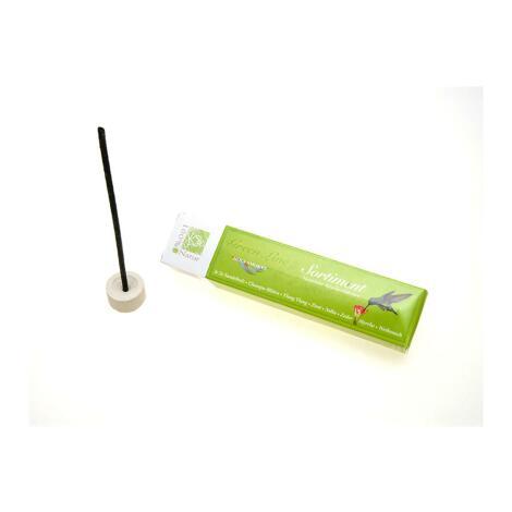 GREEN LINE SORTIMENT - natürliche Räucherstäbchen + Keramikhalter
