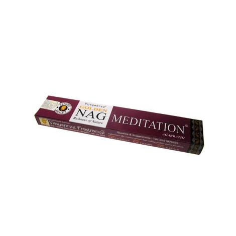 Vijashree GOLDEN NAG MEDITATION AGARBATHI 15 g